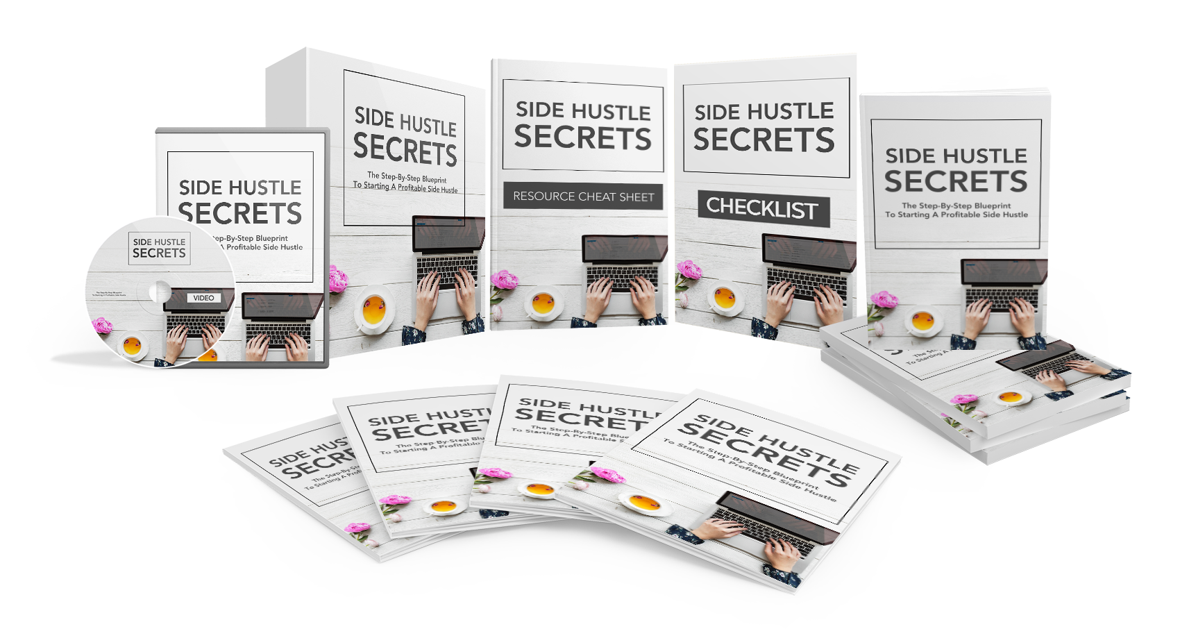 Side Hustle Secrets – Step-by-Step Guide to Start a Profitable Side Hustle and Live the Life You Always Wanted